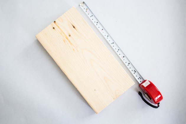 Measure and cut plank