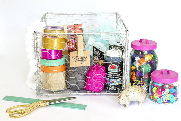 Handcrafted Wire Baskets