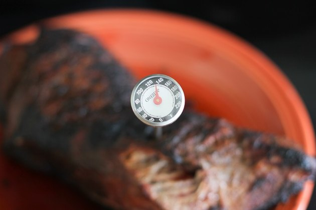 thermometer in tri-tip