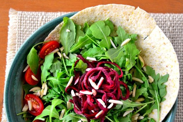 Fresh Mint and Beet Salad with Meyer Lemon Dressing