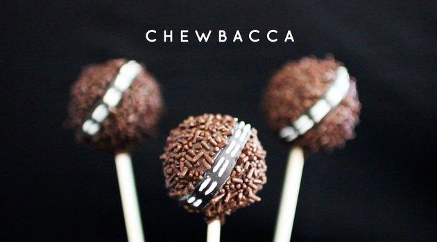 Chewbacca Cake Pops