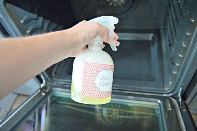 Homemade Oven Cleaner Spray