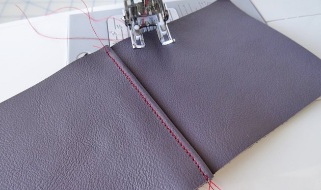 How to Sew Leather With a Standard Sewing Machine