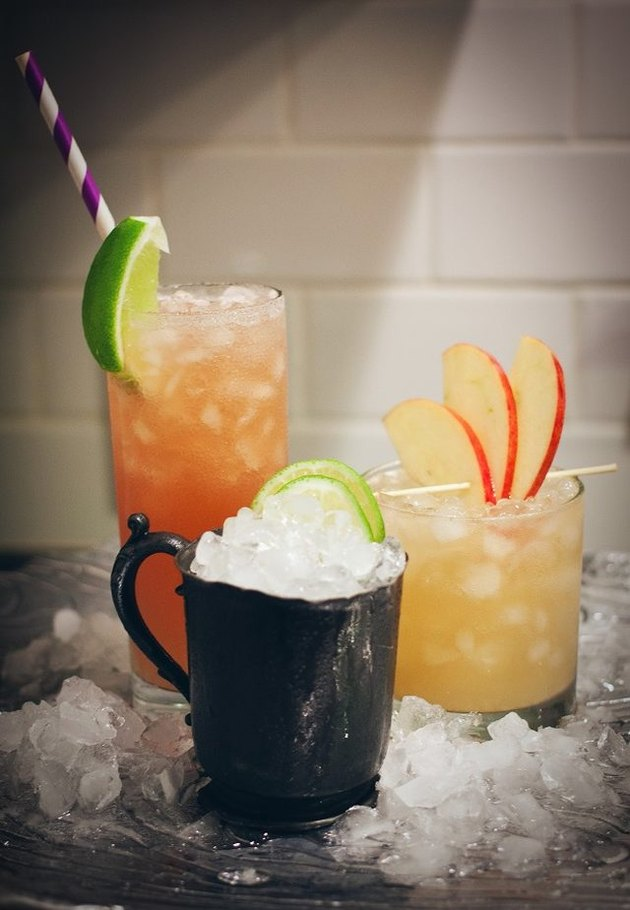 Cocktails with Ginger Beer