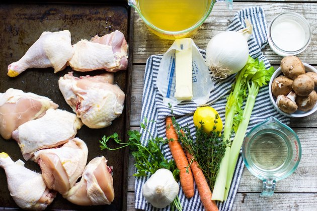 Delicious Homemade Chicken Fricassee Recipe