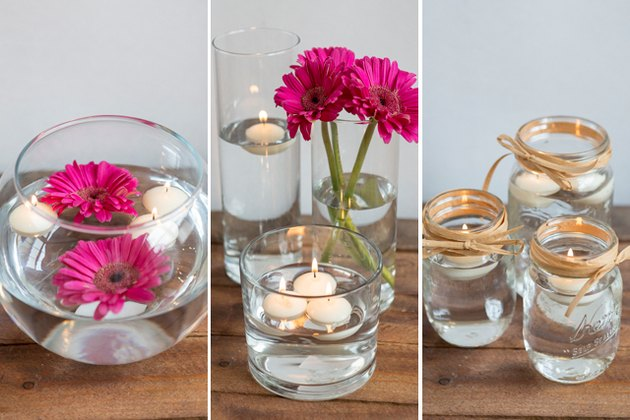 3 Floating Candle Centerpiece DIYs