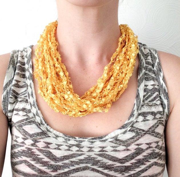 Ladder necklace.
