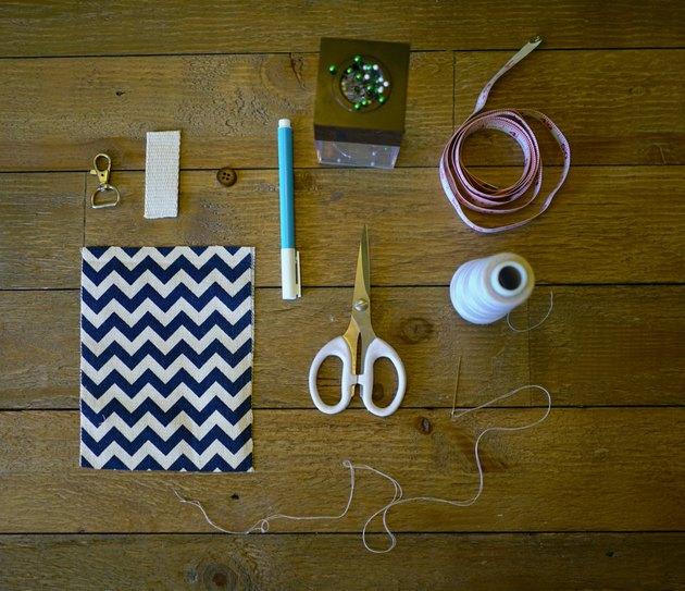Materials for DIY dog waste bag holder