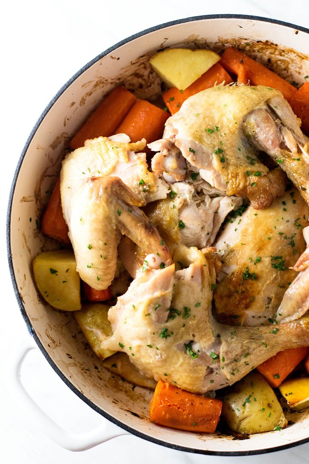 How to roast a 7-pound chicken