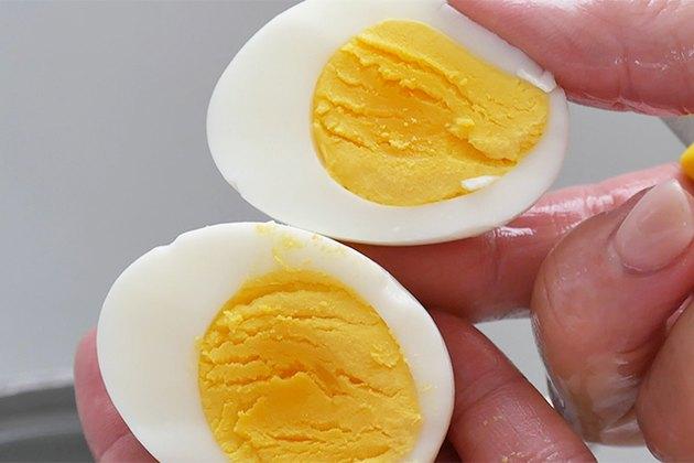 correctly boiled egg