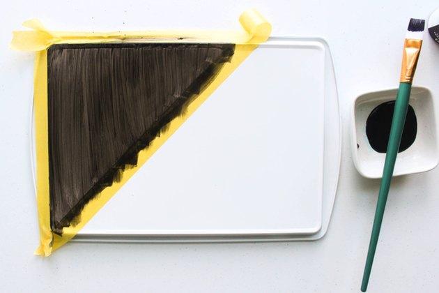 chalkboard-paint-brush-dish-cookie-sheet