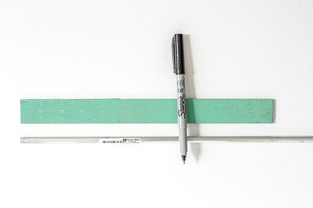 Measure mark tube