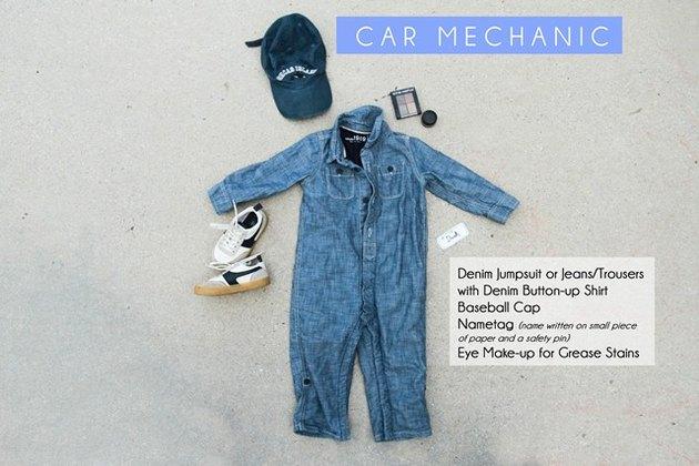 Car Mechanic Costume Requirements