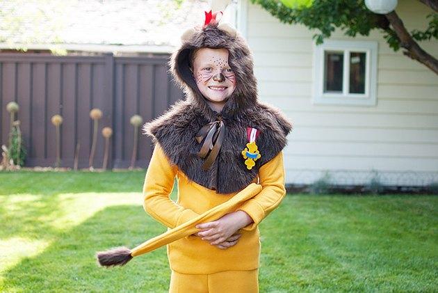 Finished costume.