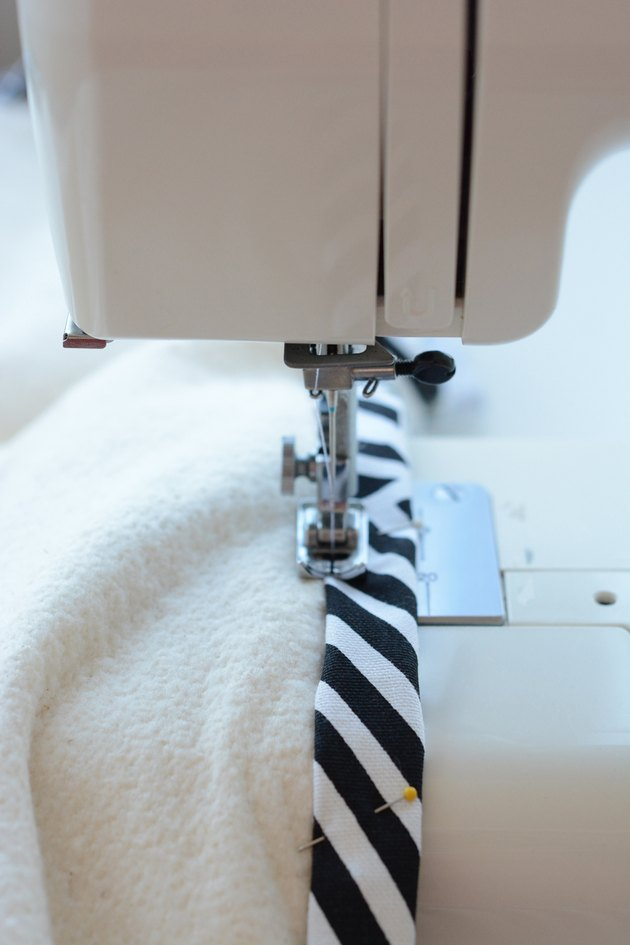 Stitch the fabric.