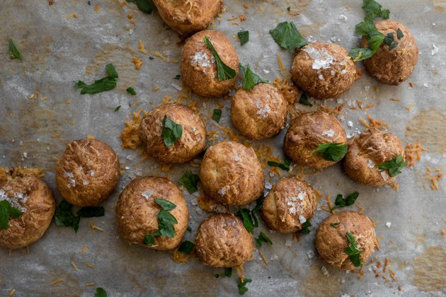 French Cheese Puffs make for delicious and addictive appetizers.