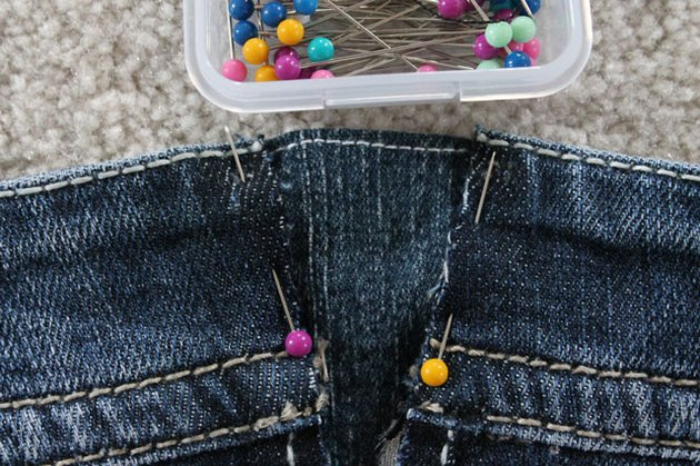 pin denim piece