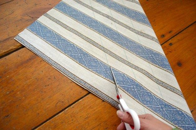 cut diagonal bias strips