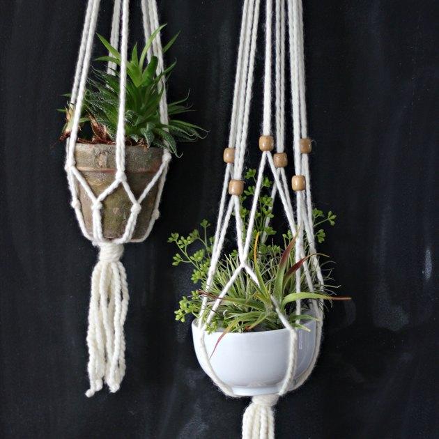 Macrame planter final