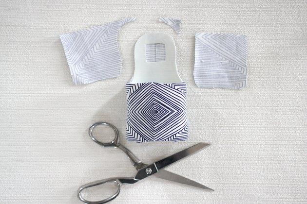 trim extra fabric