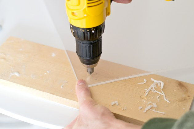 Create holes for the standoffs.
