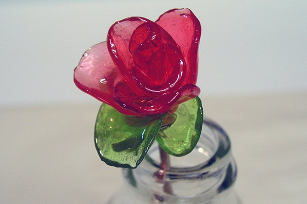 Completed Jolly Rancher rose