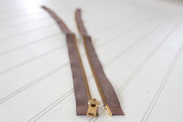 open zipper