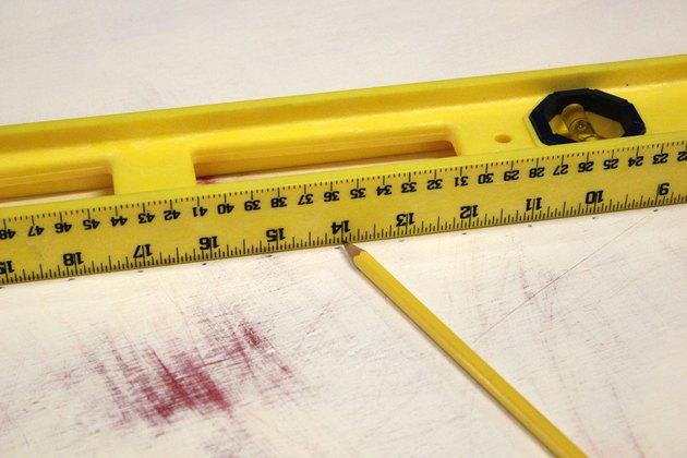 pencil marks
