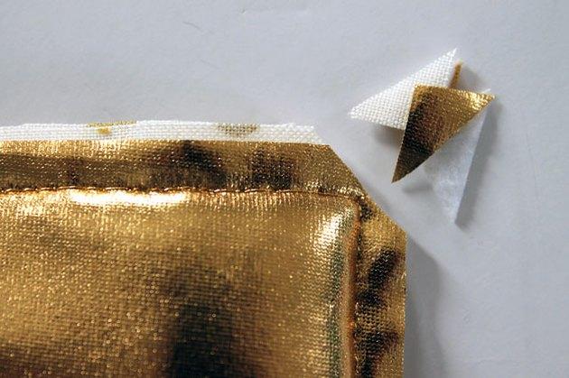 Trim corners close to stitching.