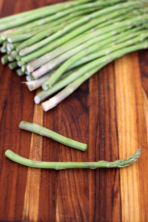 snap one asparagus