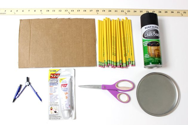 Materials for Pencil Wreath