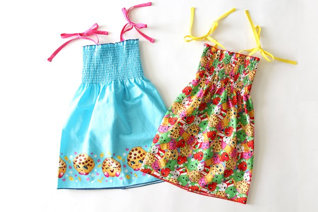 pre smocked dress DIY