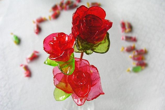 Jolly Rancher rose bouquet