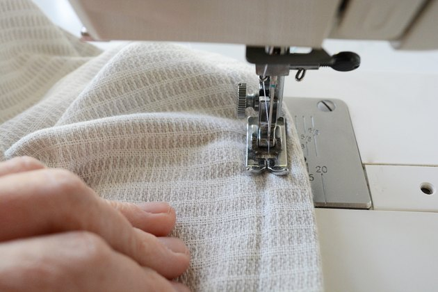 Sew along the seam