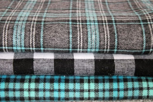 Plaid and Flannel Scarf DIY
