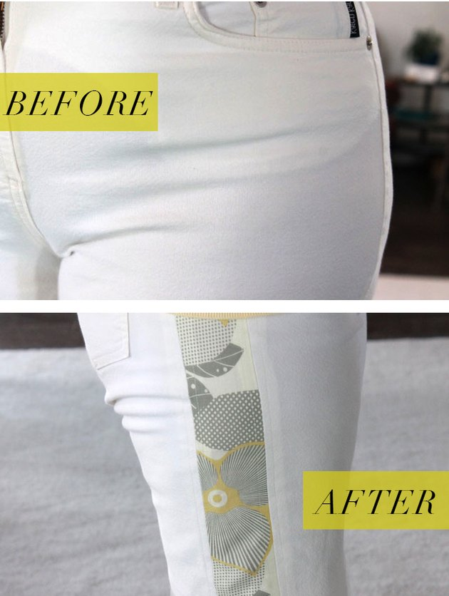 before and after of pants