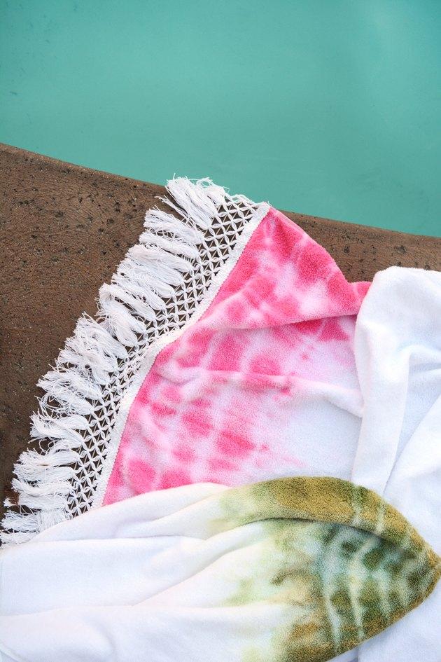 Boho Tie Dye Towel
