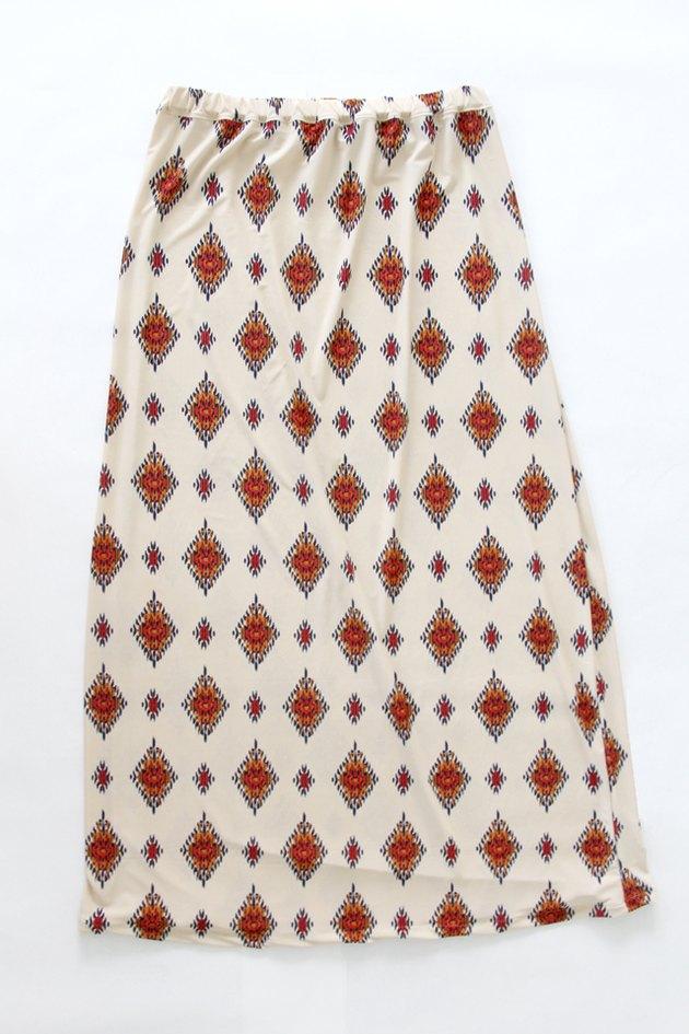 Press and finish maxi skirt