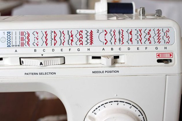 change machine to decorative stitch