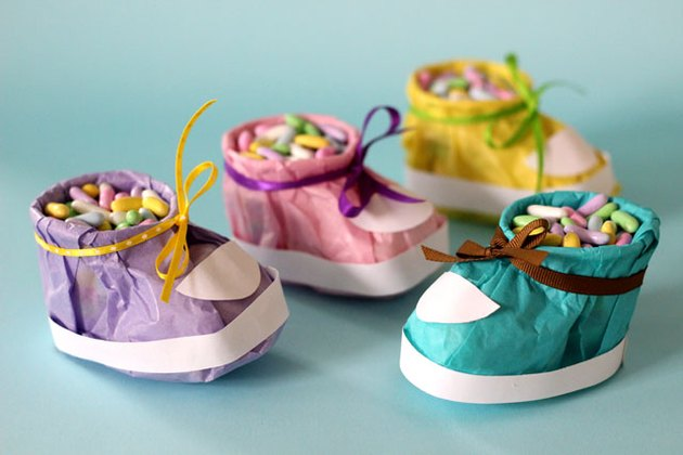 Baby Shower Booties for baby shower favors and decoration