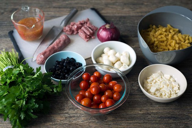 How to Make Italian Pasta Salad