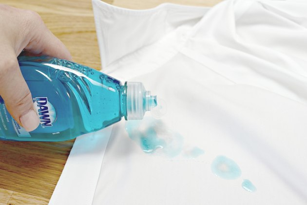 how to get butter stains out of clothing