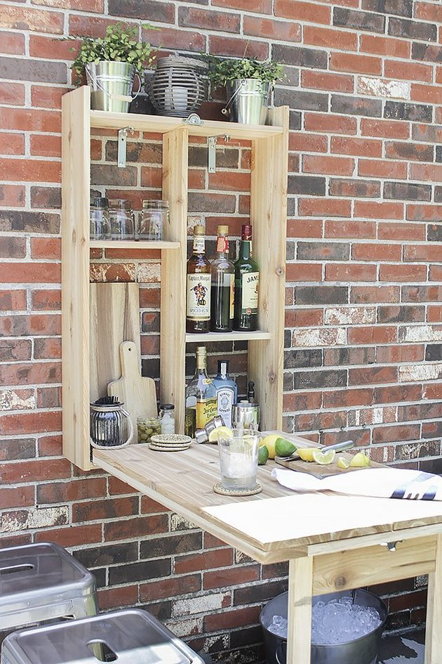 DIY Wood Murphy Bar