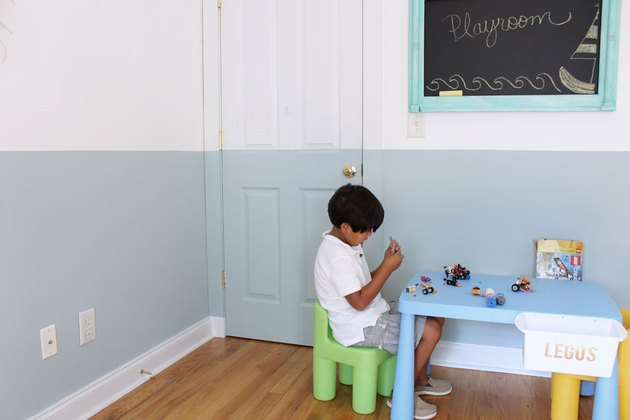 Painting interior doors can freshen up a room.