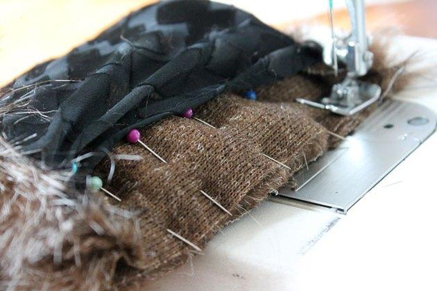 sew short edge