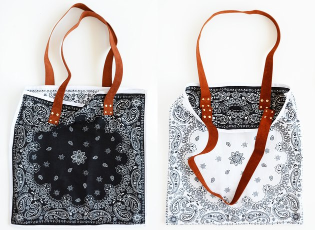 reversible bandana bag
