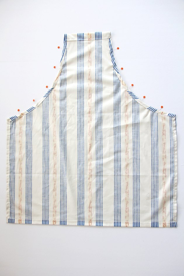 Pin and sew all side seams