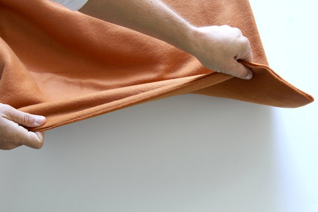 Determine the stretch of your fleece fabric