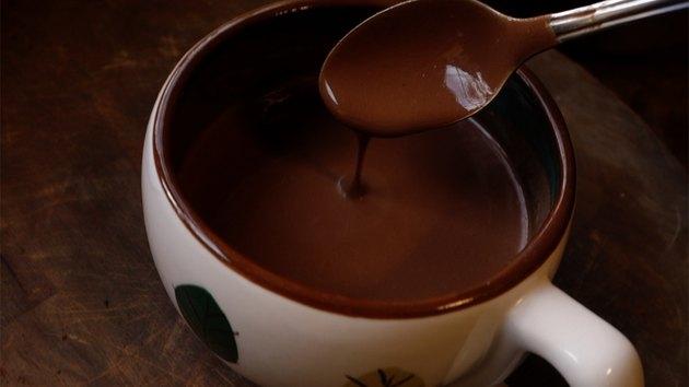 Sugar-free, low-carb European-style drinking chocolate.