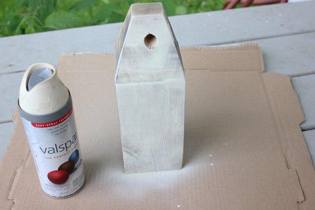 Paint the buoy in thin, light coats